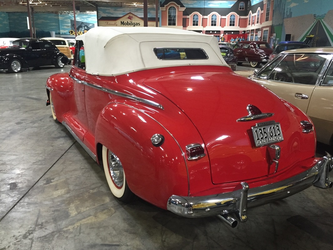 1947 plymouth 2 door convertible papa 39 s toys car collection for 1947 plymouth 2 door coupe